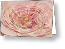 Abstract Floral  Greeting Card