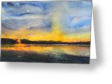 Abstract Landscape 8 Greeting Card