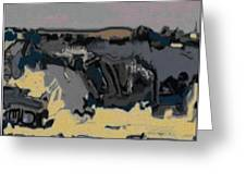 Abstract Landscape Al 1 Greeting Card