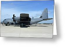 Ac-130j Ghostrider At Hurlburt Field Greeting Card