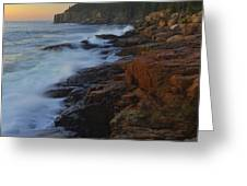 Acadia Dawn Greeting Card