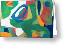 Adagio Greeting Card by Diane Fine