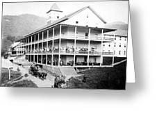 Adirondack Hotel, 1889 Greeting Card
