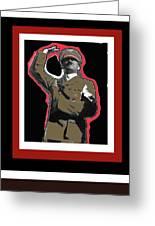 Adolf Hitler Saluting 2 Circa 1933-2009 Greeting Card