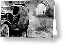 Adolf Hitler Shortly After His Release From Prison 1924 1924-2012 Greeting Card