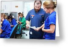 A&e Nurses Greeting Card