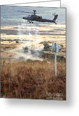 Ah64d Apache Longbow Helicopters  Greeting Card