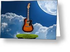 Air Guitar Greeting Card