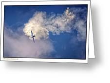 Air Show Selfridge Havilland Super Chipmunk Greeting Card