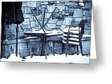 Al Fresco Greeting Card by Denice Breaux