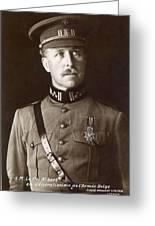 Albert I (1875-1934) Greeting Card