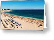 Albufeira Beach Greeting Card