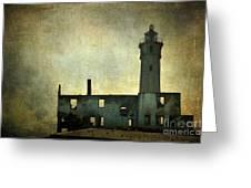 Alcatraz Island Lighthouse Greeting Card