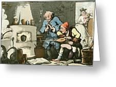 Alchemist At Work Greeting Card