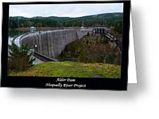 Alder Dam Greeting Card