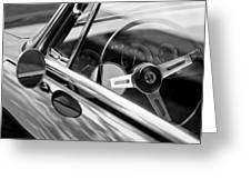Alfa Romeo Steering Wheel Greeting Card
