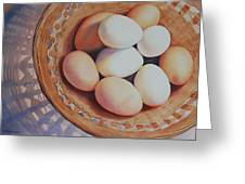 All My Eggs In One Basket Greeting Card