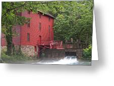 Alley Springs Mill  Greeting Card