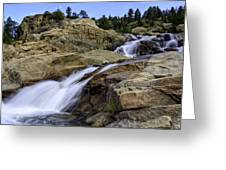 Alluvial Fan Greeting Card by Tom Wilbert