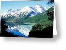 Altai Mountains Greeting Card
