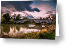 Alyesford Bridge Greeting Card
