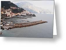 Amalfi Italy Greeting Card