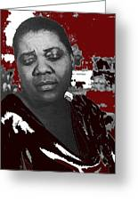 American Blues Singer Bessie Smith Unknown Date-2013 Greeting Card