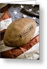 American Football Greeting Card