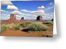 American Landscape - Monument Valley Greeting Card