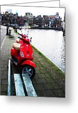 Amsterdam Landscape Greeting Card