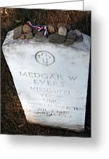Medgar Evers -- An Assassinated Veteran Greeting Card