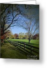An Autumn Stroll Greeting Card