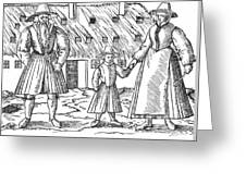 Anabaptist Family Greeting Card