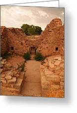 Anasazi Ruins  Greeting Card