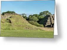 Ancient Mayan Ruins, Altun Ha, Belize Greeting Card