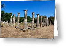 Ancient Olympia Greeting Card
