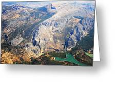 Andalusian Heights. Spain Greeting Card