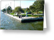 Annapolis Uss Triton Light Greeting Card