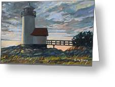 Annisquam Light Greeting Card