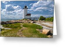 Annisquam Lighthouse Greeting Card