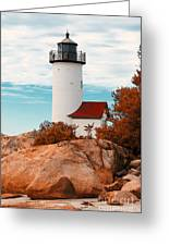 Annisquam Lighthouse Greeting Card