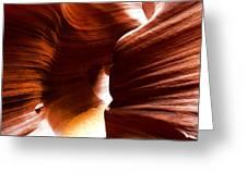Antelope Canyon 7 Greeting Card