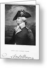Anthony Wayne (1745-1796) Greeting Card