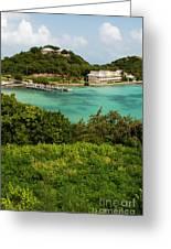 Antigua Long Bay Greeting Card
