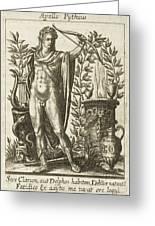 Apollo Pythias, The Greek God Greeting Card