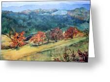 Appalachian Autumn Greeting Card