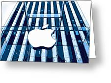 Apple In The Big Apple Greeting Card