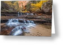 Arch Angel Falls Greeting Card by Joseph Rossbach