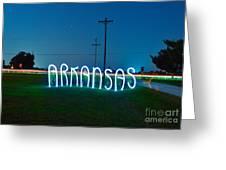 Arkansas Greeting Card