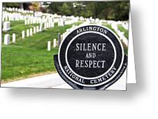 Arlington National Cemetery Part 1 Greeting Card